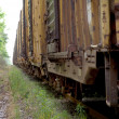 Boxcars - Stock Photo