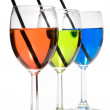 Colorful Wine — Stock Photo