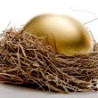 Foto Stock: Golden Egg