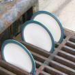 Stock Photo: Drying Plates