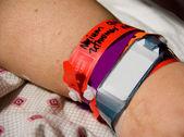 Hospital ID Bracelet — Stock fotografie