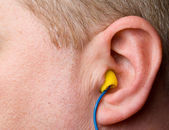 Ear Plugs — Stock Photo