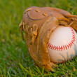 Evening Baseball — Stock Photo