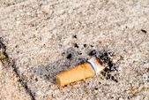 Cigarette Butt — Stock Photo