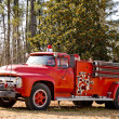 Stock Photo: Antique Firetruck