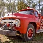 Antique Firetruck — Stock Photo