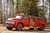 Antique Firetruck — Stock Photo