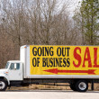 Going Out of Business — Stock Photo #2199085
