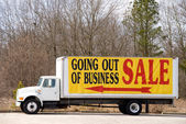 Going Out of Business — Foto de Stock