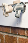 Leaky Spigot — Stock Photo