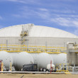 Natural Gas Refinery - Stock Photo