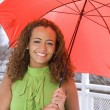 Woman Holding Umbrella — Stock Photo #2620434