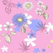 Royalty-Free Stock Vector Image: Seamless pattern with flowers