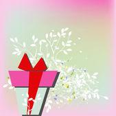 Plantilla para tarjetas de felicitación — Vector de stock