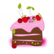Royalty-Free Stock Vector Image: Cake