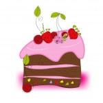 Cake — Stock Vector #2143482