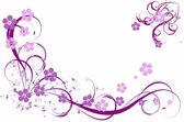 Patrón de color lila — Vector de stock