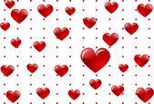 Amor corazón — Vector de stock