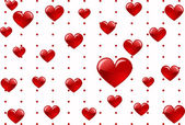 Herz liebe — Stockvektor