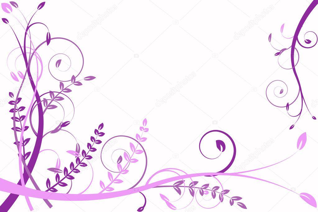 Fondo Primavera álbum Classic Flores Violetas: Abstração De Flor Lilás, Padrão