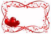 Scope heart love — Stock Vector