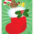 Royalty-Free Stock Imagen vectorial: Christmas stocking