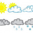 Weather Symbols — Stock Vector #2114783