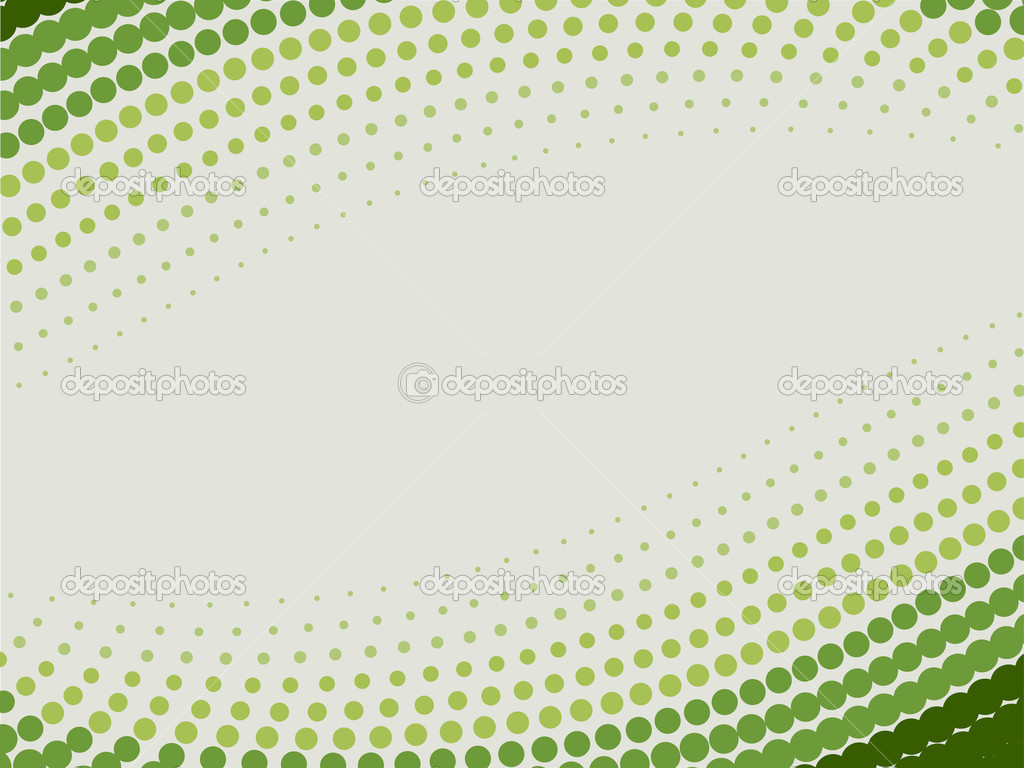 Halftone green vector background — Stock Vector #2116232