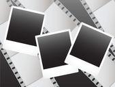 Polaroid photo — Stock Vector