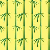 Bamboo seamless texture — Stock Vector