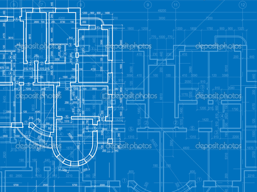 Construction Building Background Building Background Plan of