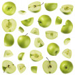 Green apple — Stock Photo #1724707