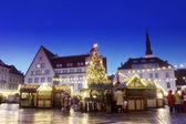 Tallinn kerstmarkt — Stockfoto