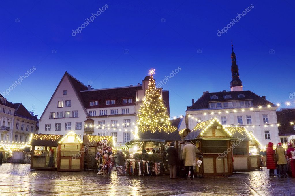 Shot at December 2006. One of most well-known Christmas markets in Europe  Photo #1766295