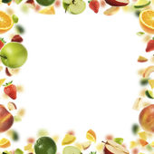 Fruit frame — Foto Stock