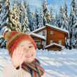 Winter happiness — Stockfoto