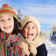 Winter happiness — Stock Photo #1768679