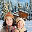 Winter happiness — Stock Photo #1768717