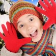 Winter happiness — Stock Photo