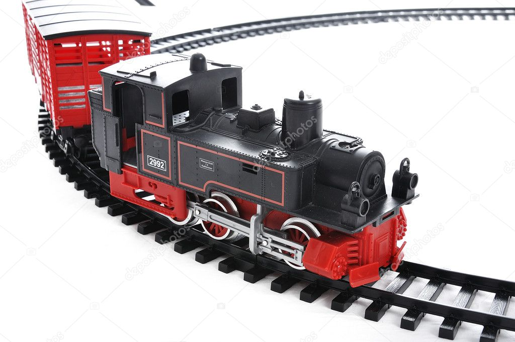 Train toy, present for children — Stock Photo #1769324