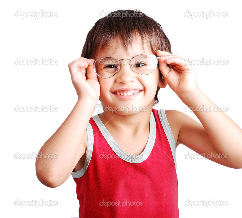 Little Beautiful funny boy — Stock Photo #1769389