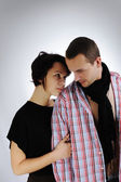 Muž a žena — Stock fotografie
