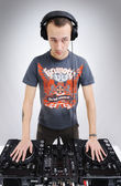 Dj man — Stock Photo