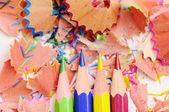 Färgpennor — Stockfoto