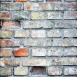 Stock Photo: Brick wall, different colors, great back