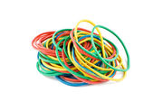 Rubber bands — Foto Stock