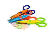 Colourful scissors — Stock Photo