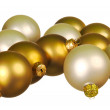 Royalty-Free Stock Photo: Christmas balls isolated on white
