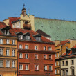 Houses in the Old Town, Warsaw — Stock Photo