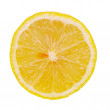 Royalty-Free Stock Photo: Half of lemon isolated